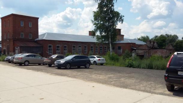 Производственно-складское здание на въезде в г. Серпухов