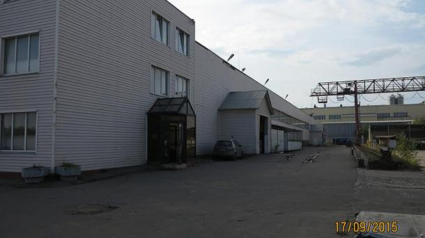 Аренда склада с кран-балкой 10т.