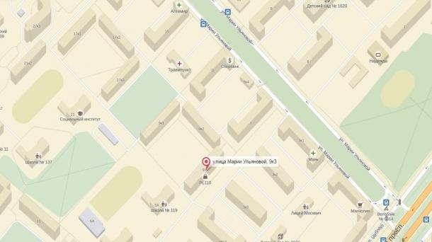 Офис 44.8м2, Ломоносовский,  Марии Ульяновой улица,  д.9к3,  Боровское шоссе