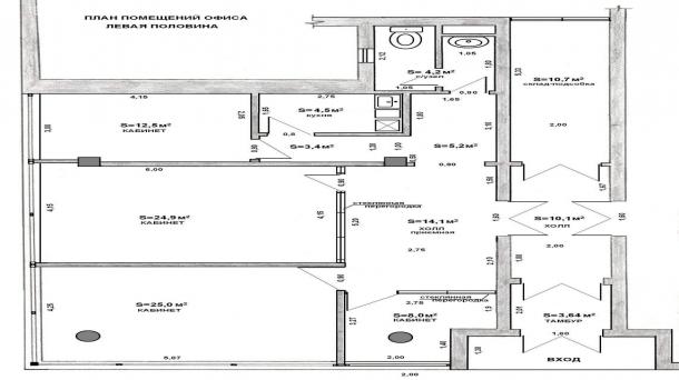 Офис 115м2, Гагаринский,  Косыгина улица,  д.15