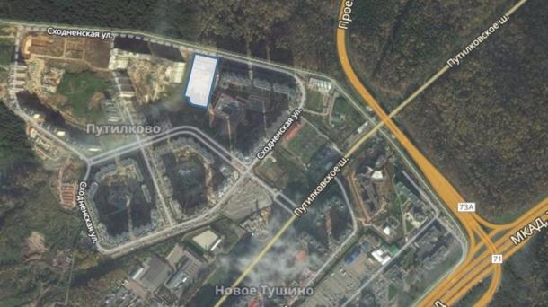 Земля 13480м2, Московская область,  Красногорский  деревня Путилково,  Сходненская улица,  Пятницкое шоссе