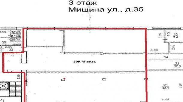 Офис 310м2, Динамо