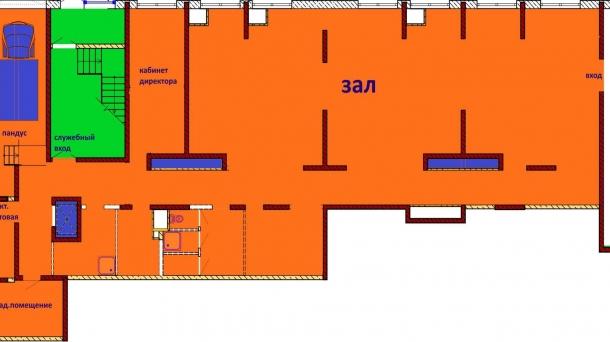 Торговое помещение 304 м2