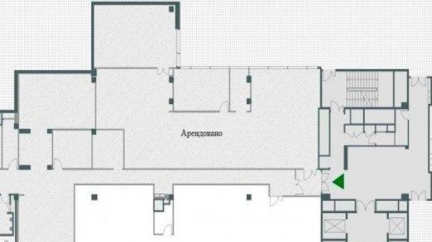 Офис 328.56 м2 у метро Молодежная