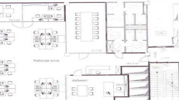 Офис 296.3м2, Знаменка улица,  7 к3