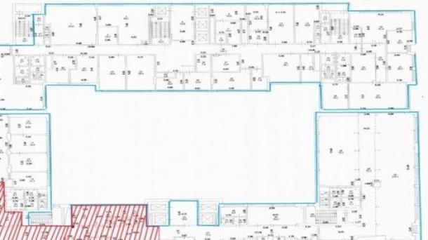 Аренда офисного помещения 263.1м2,  метро Рижская