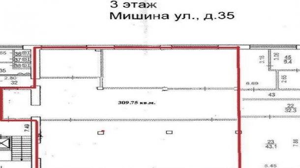 Офис 309м2, Динамо