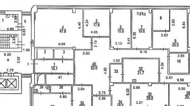 Офис 459м2, Пресненский Вал улица, 14