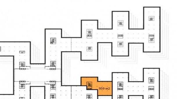 Офис в аренду 959м2,  метро Сокол