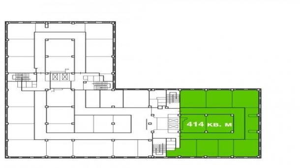 Офис 414м2, Волоколамская