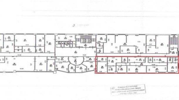 Сдаю офисное помещение 219.1м2, метро Театральная, метро Театральная