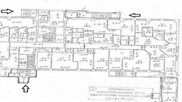 Офис 650м2, Земляной Вал улица, 36