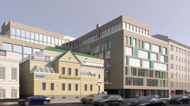 Здание 13909 м2 , метро Тверская