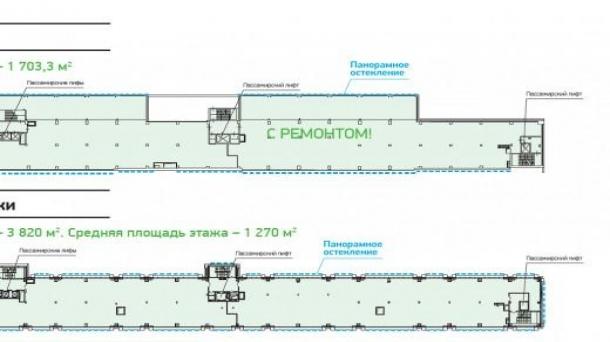 Продается офисное помещение 1703.3м2,  Москва
