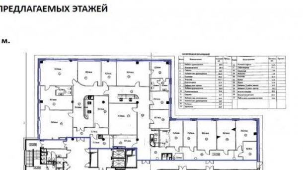 Офис 620.7м2, улица Арбат, 10