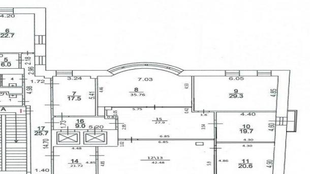 Офис 107.5м2, Большой Гнездниковский переулок, 7