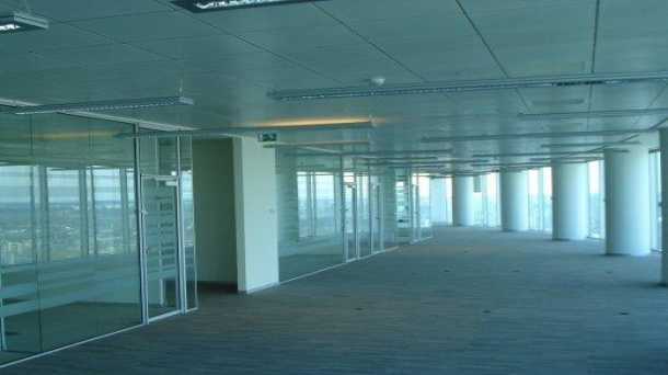 Офис в Москва-Сити 1150 м2, метро Деловой центр