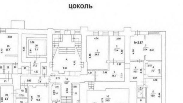 Офис 3168 м2, Верхняя Радищевская улица, 3