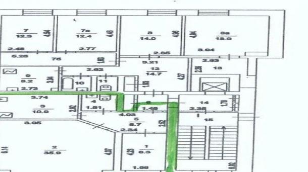Офис 63.5м2, Хлебный переулок, 19
