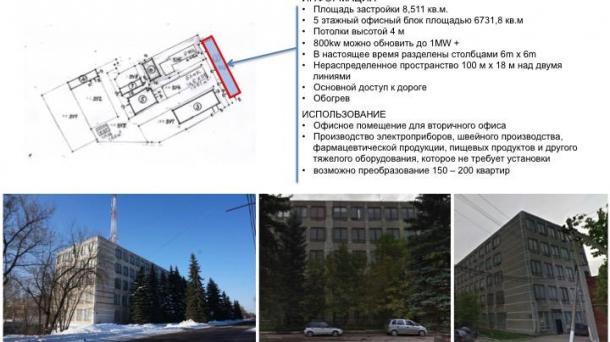 Помещение под производство 8511м2, метро Беляево