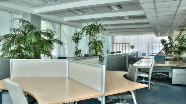 современный 3-х этажный офис класса А