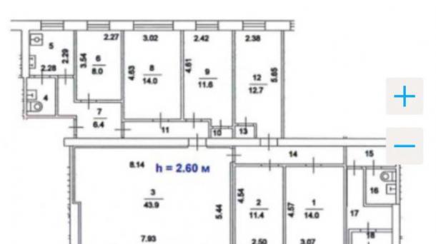 Помещение свободного назначения 153.8м2