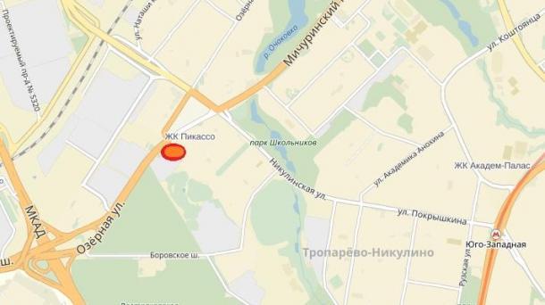 Гараж 18 м2, метро Очаково