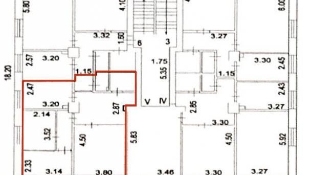 Офис 57.3м2, Мирской пер,  д 8 к 3