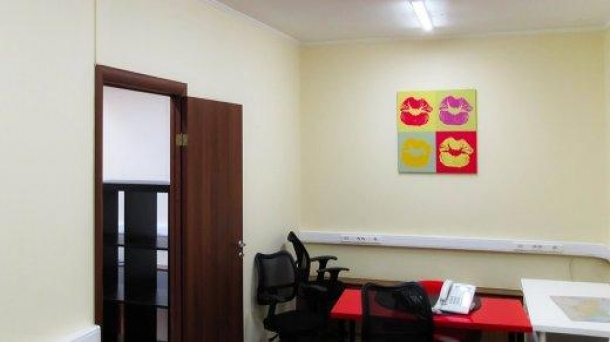 Офис 37.3 м2 у метро Парк Культуры