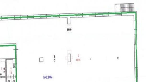 Офис 337.6 м2 у метро Фрунзенская