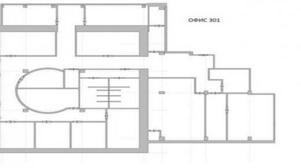 Аренда офисного помещения 605м2, Москва, 907500руб.