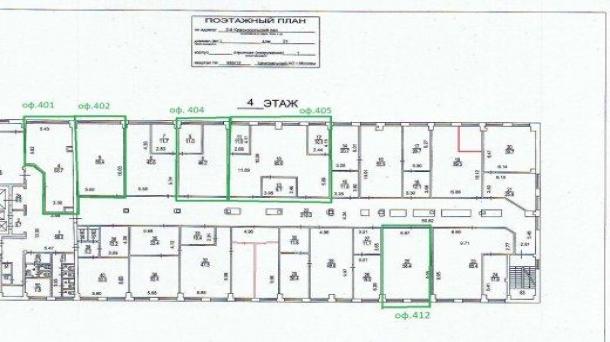 Офис 57.2м2, Красносельская