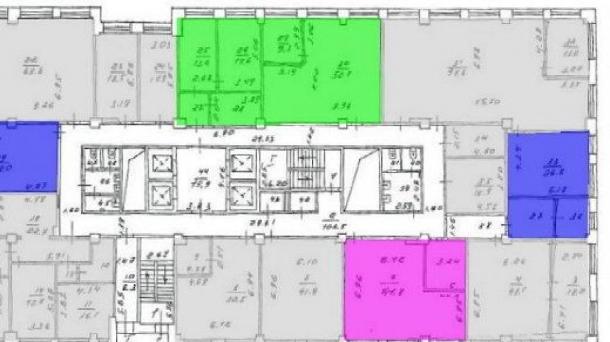 Офис 68.1м2, Крылатское