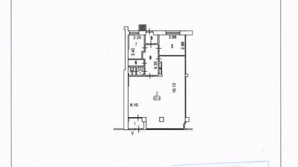 Торговое помещение 101.6 м2