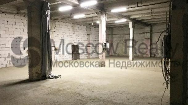 Склад 1317 м2 в ЮВАО Москвы