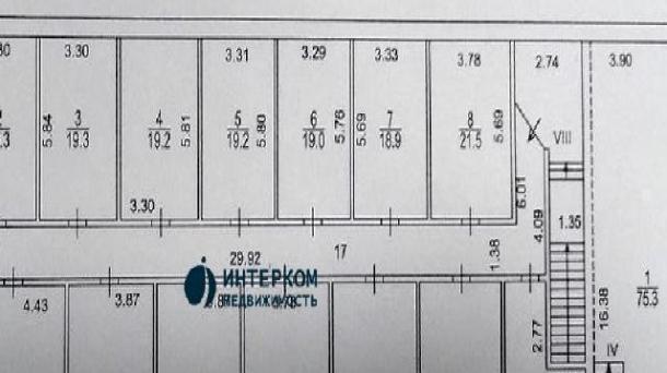 Офис 32 м2 у метро Электрозаводская