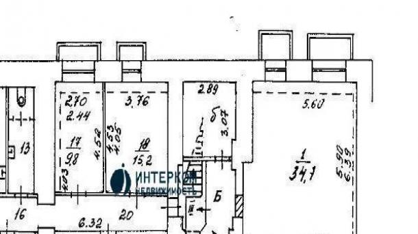 Офис 15.2 м2 у метро Красные ворота