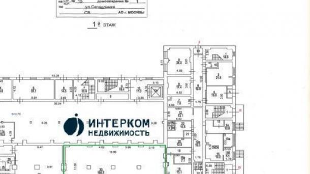 Аренда торгового помещения  275м2, метро 110, Москва