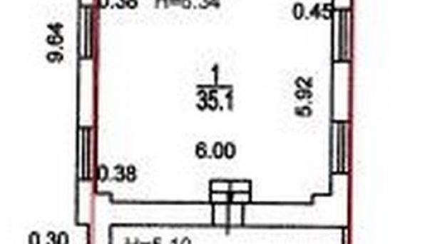 Офис 78.2м2, МЦК Коптево