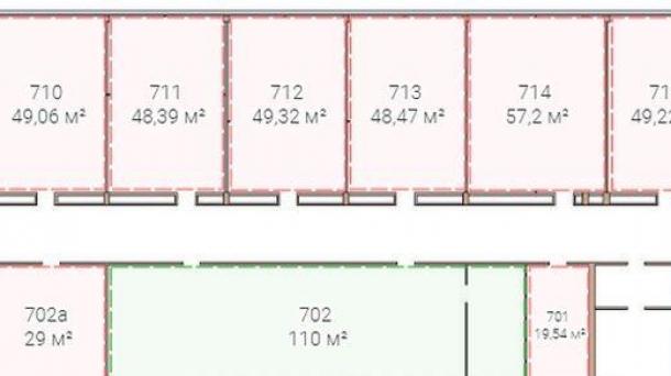 Офис 50.1м2,